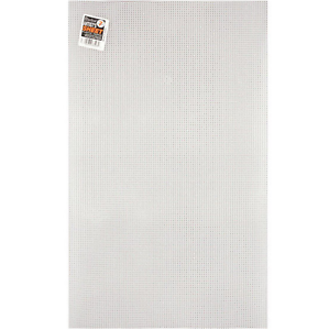 Free Shipping Your Choice of Color 7 Count lot #1 Plastic Canvas Sheets 10.5 by 13.5 inch Perforated Plastic