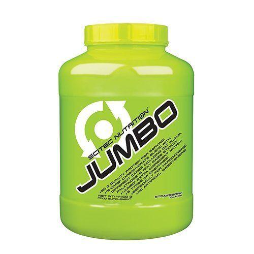 (9,79€/1kg) Scitec Nutrition Jumbo - 4400g - Erdbeere  - Weightgainer mit Creat