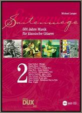 SAITENWEGE Akustik Gitarre Noten Songbook + Cd 500 Jahre Musik by MICHAEL LANGER