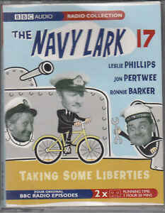 The-Navy-Lark-17-Taking-Some-Liberties-2-Cassette-Audio-Comedy-Ronnie-Barker