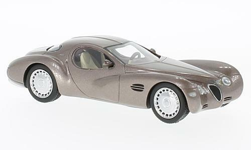 Chrysler Atlantic Concept Car Metallic Beige 1995 1 43 Model NEO SCALE MODELS