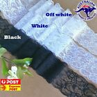 Beautiful flower lace trim for invitation or craft White ,Off white,Black