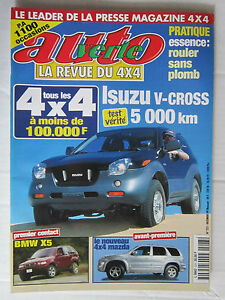 AUTO-VERTE-4X4-N-223-ISUZU-V-CROSS-BMW-X5-MAZDA-4X4