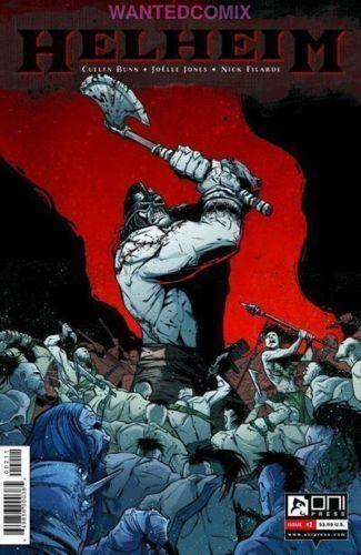 HELHEIM #2 ONI PRESS COMIC BOOK 1st PRINT DEATH MATURE THEME NEW 1