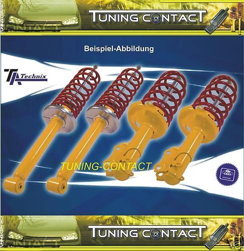 TA TECHNIX Sportfahrwerk Fahrwerk Ford Escort 5+6 GAL ALL 90-95 40//40mm
