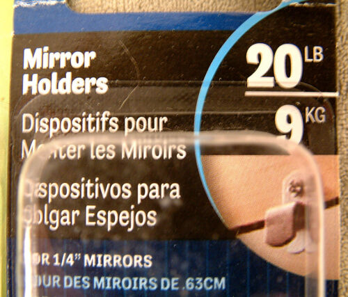 Hillman 4-pcs Mirror Holders ~ NEW ~ #121155