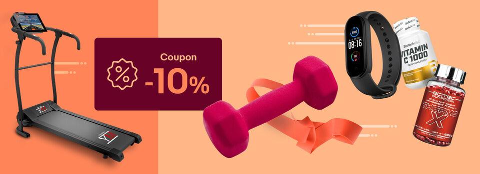 Scopri tutto - 10% coupon per il tuo sport!