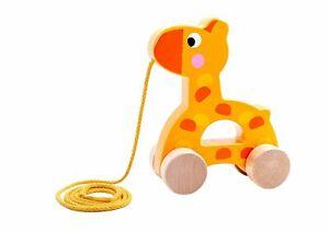 Premium-Wooden-Toy-Pull-Along-Giraffe-Age-18-Months