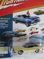 `74 Ford Gran Torino Yellow Pastel 1974 **RR** Johnny Lightning Classic 1:64 OVP