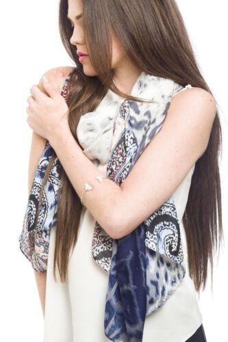 Ladies Scarf New Vintage Floral Print Spring Summer Fashion Style Scarves Shawl