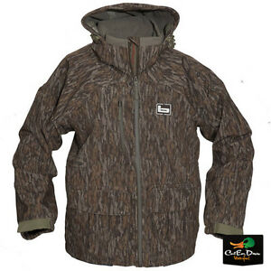 BANDED-MINGO-SOFT-SHELL-WADER-JACKET-DUCK-HUNTING-COAT-BOTTOMLAND-CAMO-SMALL