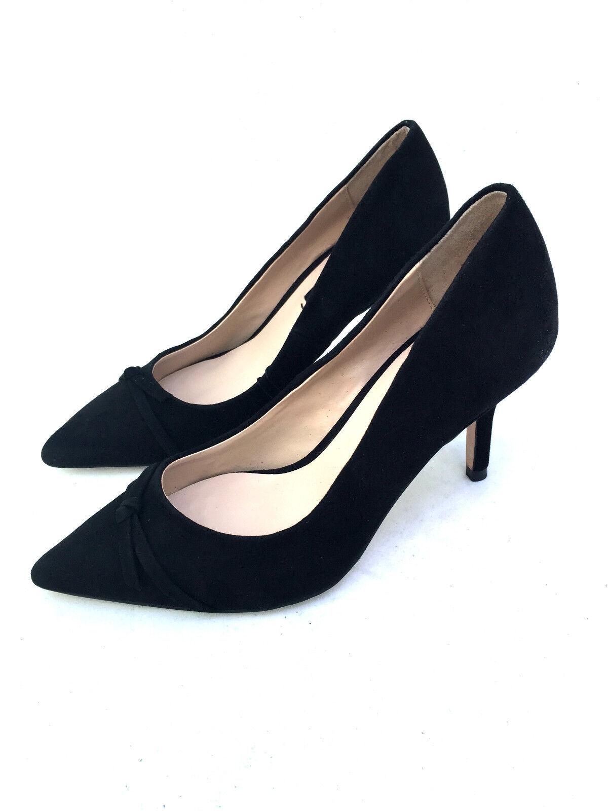 Zara Pelle GATTINO TACCO Corte scarpe a a a punta taglia uk3/eur36/us6 52f685