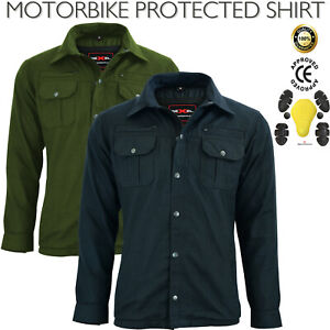 New Mens Motorcycle Motorbike Protective Shirt CE Armoured Protection For Bikers