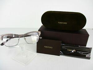 b46db7844ea Tom Ford TF 5364 (020) Striated Grey 53 x 15 140 mm Eyeglass Frames ...