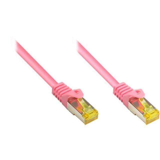(€0,74/m) 50.00m Good Connections Cat. 7 Rohkabel Patchkabel S/FTP (8070R-500M)