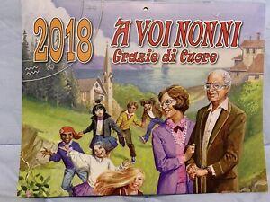 Il Calendario Di Frate Indovino.Dettagli Su Calendario Frate Indovino 2018 A Voi Nonni Grazie Di Cuore