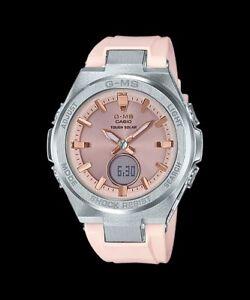 9ec91b773408 MSG-S200-4A Tough Solar Ladies Watches Casio G-MS Baby-G Analog ...