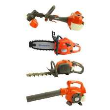 Gardening Tools for Kids Yard Trimmer Chainsaw Leaf Blower Real Sounds & Lights