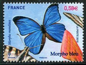 STAMP-TIMBRE-DE-FRANCE-N-4497-NATURE-PAPILLON