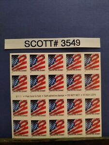Scott-3549-United-We-Stand-Booklet-of-20-34-Cent-Stamps