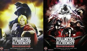Fullmetal Alchemist Brotherhood . Complete Series . Collection 1 2 . 10 Blu-ray   eBay