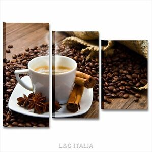 Quadro bar caffè 7 QUADRO MODERNO STAMPA TELA QUADRI ARREDAMENTO ...
