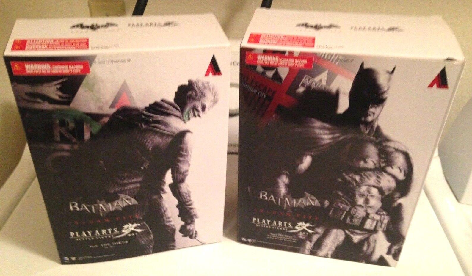 Batuomo & Joker Play Arts Kai SEALED nuovo giocattoli