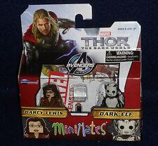 Marvel MiniMates 53 Thor: The Dark World DARCY LEWIS & DARK ELF Figure 2 PK