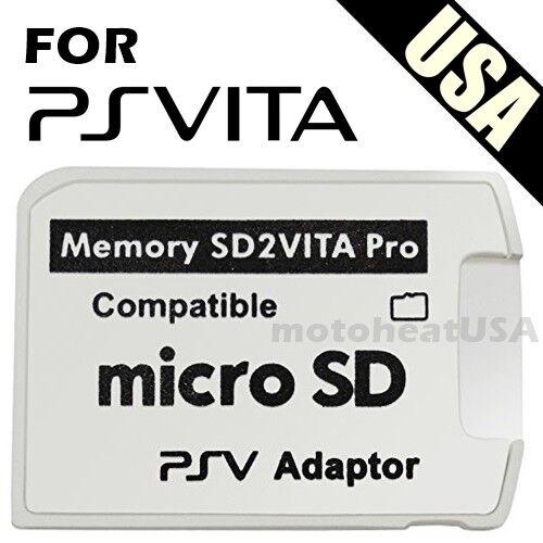 V5.0 SD2VITA PSVSD MicroSD Memory Card Pro Adapter For PS Vita Henkaku 3.60-3.69