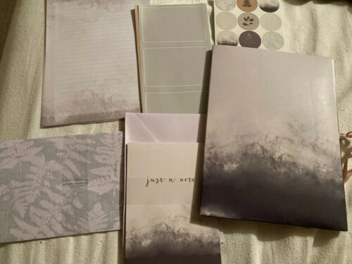 Beautiful Writing Set Penpal Letter Notelets Envelope Stickers Gift Set