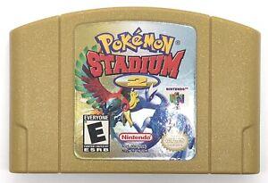 Pokemon-Stadium-2-Nintendo-64-N64-2001-Authentic