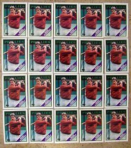 Mike Schmidt 1988 Topps #600 Philadelphia Phillies 20ct Card Lot