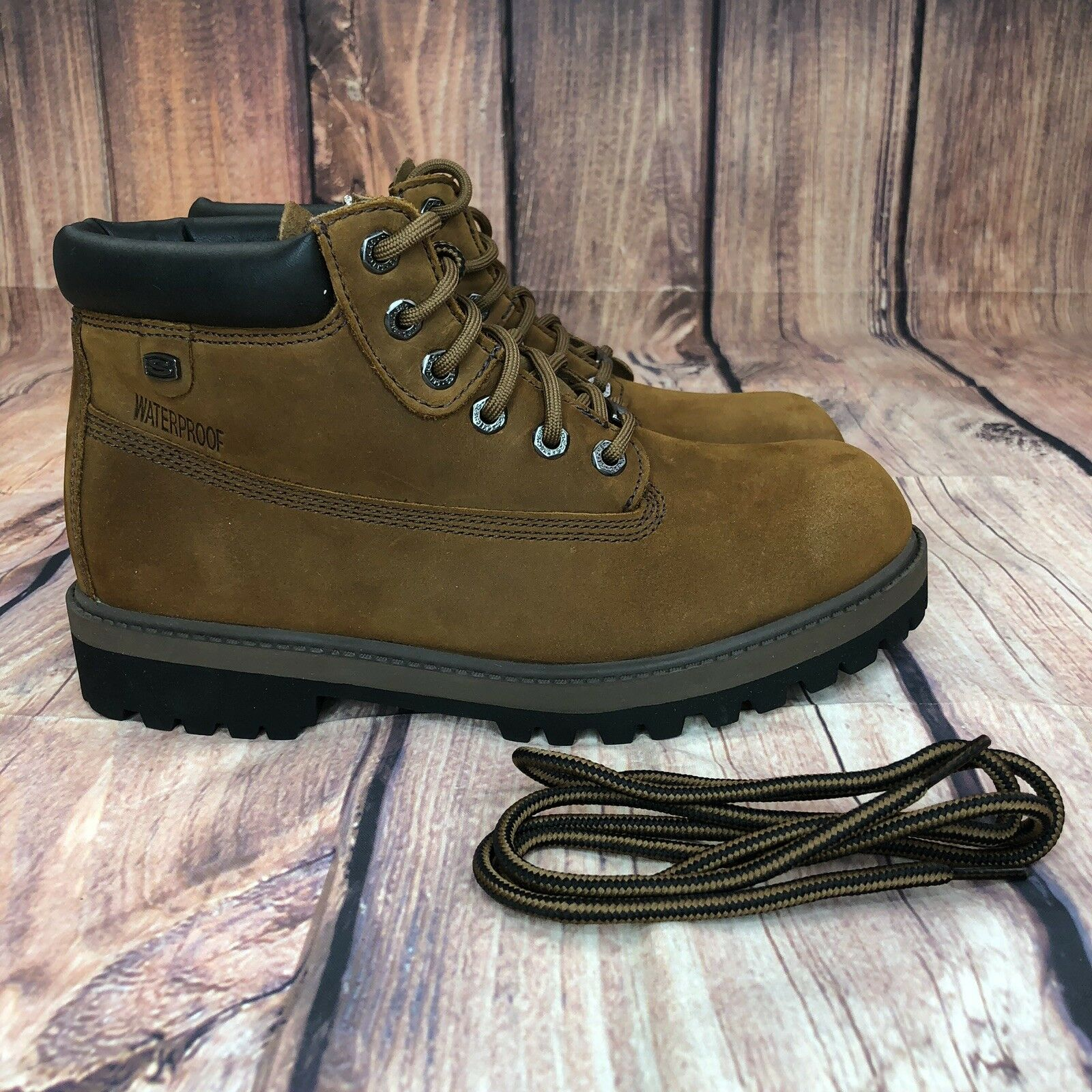 Skechers Relaxed Fit Ranger Boots Women Size 10 - EUR 40 NEW 48351 CDB