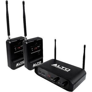 Industrieux Alto Professional Stealth Système Sans Fil Pour Active Speakers-navires Gratuit U.s.-afficher Le Titre D'origine