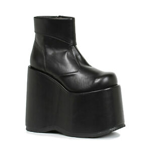 Ellie-500-FRANK-Men-039-s-Frankenstein-Munsters-Addams-Family-Platform-Ankle-Boot