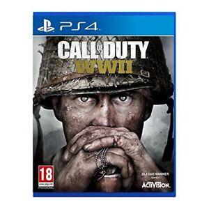 Call-Of-Duty-WWII-PS4-Gioco-per-Sony-Playstation-4-Nuovo-e-Sigillato-COD