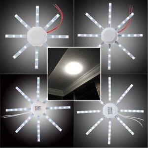 5730 smd led deckenleucht 12w 16w 24w schlafzimmer k che badlampe lampen wei ebay. Black Bedroom Furniture Sets. Home Design Ideas