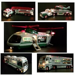 Hess Toy Truck Collection Lot Of 5 Ebay