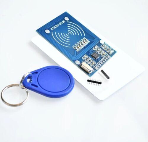 Lettore RFID con portachiavi e card compatibile RC522 arduino S50 13.56 Mhz 6cm