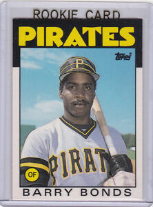 1986 Topps Traded #11T Barry Bonds Other Encased Pittsburgh Pirates Rookie Card
