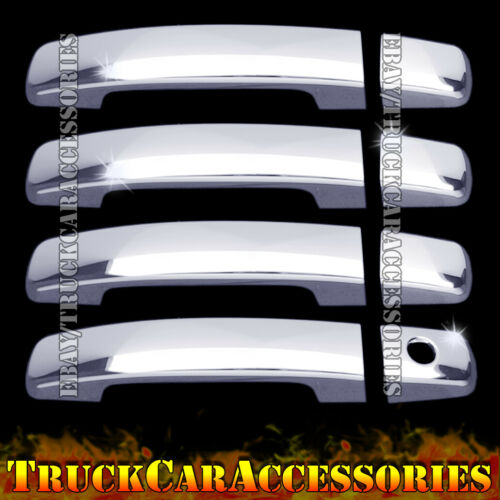 For NISSAN Frontier 2005-12 13 14 15 16 17 Chrome 4 Dr Handle Cover w//o Smart K