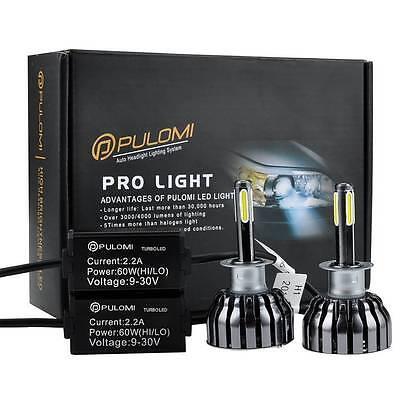 120W 12800lm 4 Sides CREE LED Headlight Kit 880 881 Low Beam 6000K Bulbs White