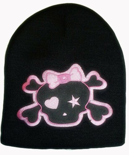 Clover Beanie Skull Hair Bow Heart and Star