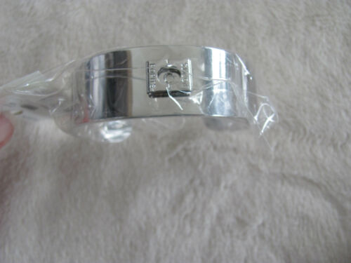 Set of 6 Silver Accessories Popits 2-Rings  2-Bracelets  2-Hair Clips