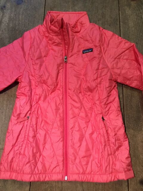 d9a26ed855b2 Patagonia Girls  Nano Puff Jacket Winter Coat Indy Pink XL 14 for ...