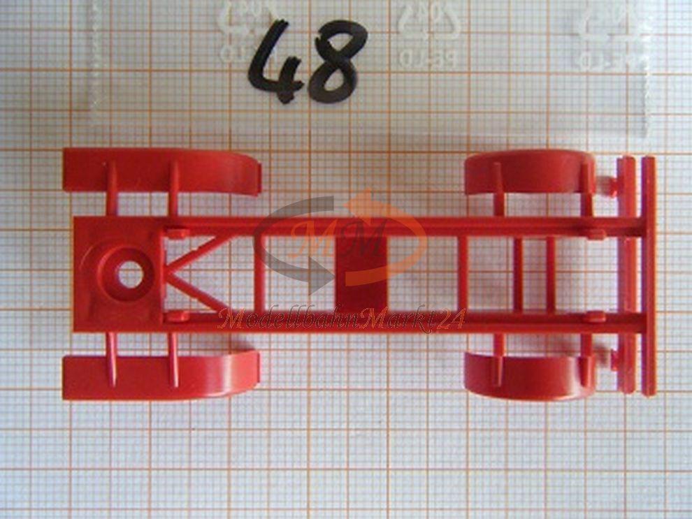 ALBEDO ALBEDO ALBEDO Ersatzteil Ladegut Chassis Rahmen hinterer UFS rot H0 1 87 - 0048  | Verrückter Preis  be1db7