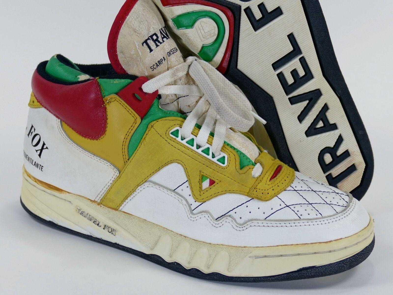 Vintage Nunca Usado viaje FOX Zapatos euro 43 US 9.5 - UK tropa Spx 80s 90s 1980s