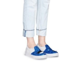 Flirting on Eye 36 Taglia 3 Ferragni Slip Sneakers Eu Glitter Uk Blu Wink Chiara xqAa5wYp
