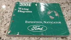 2004 Ford Expedition/Navigator Wiring Diagram | eBay