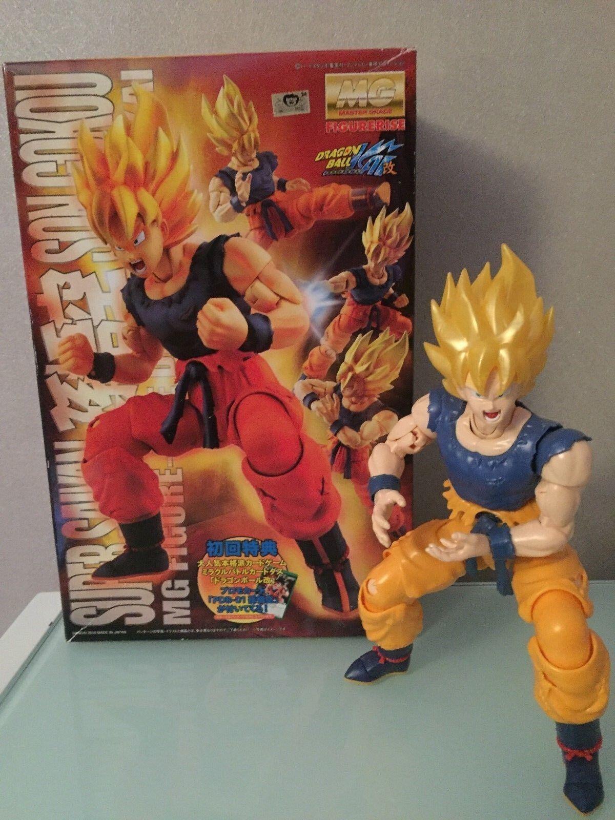 DRAGON BALL 1 8 Figure Goku Super Saiyan Master Grade Bandai